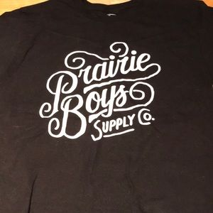 ❤️Free with purchase❤️Prairie boys supply co. Tee